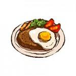 宮崎県健康長寿サポートサイト|塩分チェックハンバーグ